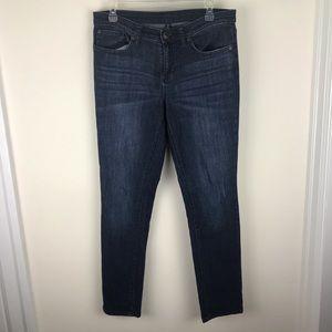 Gap Sz 8 / 29 Premium Skinny Dark Wash Blue Jeans